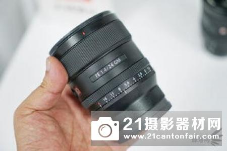 索尼广角定焦G大师镜头FE 24mm F1.4 GM发布